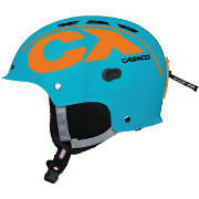 Casque de ski Casco CX-3 Icecude turquoise-orange