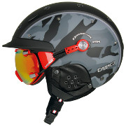 Ski helmet CASCO SP-6 Airwolf FX Camo black-grey