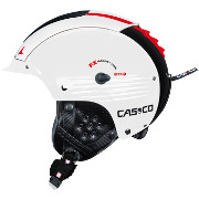 Ski and Snowboard helmet Casco SP-5 Competition white-black shiny