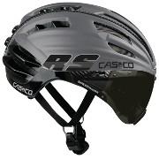 908c2f6a453a7 Rollerski   Cycling helmet Casco SpeedAiro RS silver-black