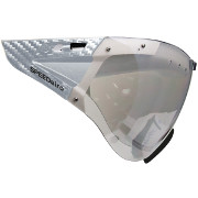 CASCO SPEEDmask Carbonic crystal-clear mirrored Visor