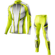 Löffler Cross-country ski suit Teamline 2016 light-green (kids)
