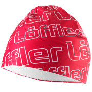 "Löffler Elastic Hat ""Logo"" Thermo-Innenvelours red"