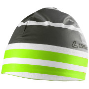 "Löffler Elastic Hat ""WorldCup"" THERMO-INNENVELOURS black-light green"