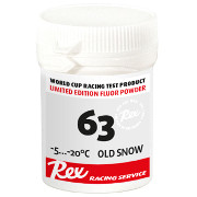"Fluor powder Rex 63 ""Old Snow"" -5°C...-20°C, 30g"