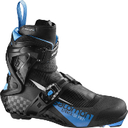Skating boots Salomon S/Race Skate Pro Prolink black-blue