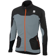 Warm-up jacket Sportful Apex WS Jacket black-grey
