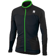 Warm-up jacket Sportful Apex WS Jacket black