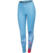Sportful Grace women's tight turquoise