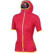 Warm-up jacket Sportful Rythmo Evo W Puffy cherry
