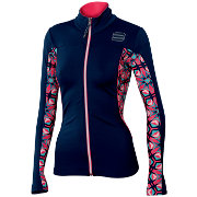 Women jacket Sportful Rythmo W Top black iris