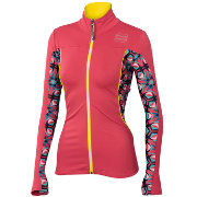 Women jacket Sportful Rythmo W Top Cherry/Kaleidoscope