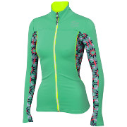Women jacket Sportful Rythmo W Top mint green