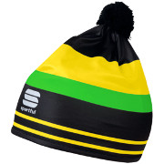 Sportful Squadra Race Hat black-green fluo