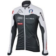 "Warm-up jacket Sportful Team Italia Kappa WS Jacket ""Carbonio"""