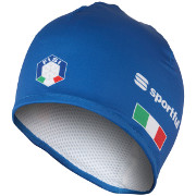 "Bonnet Sportful Team Italia Race Hat ""Carbonio"" bleu"