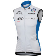"спортивный жилет Sportful Team Italia Vest Kappa ""Carbonio"" синий"