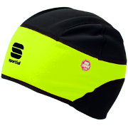 Sportful WS Cold Hat black-neon yellow