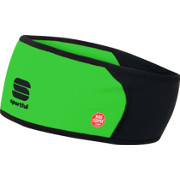 Sportful Windstopper Headband vert fluo-noir