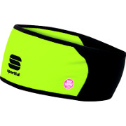 Sportful Windstopper Headband yellow fluo-black
